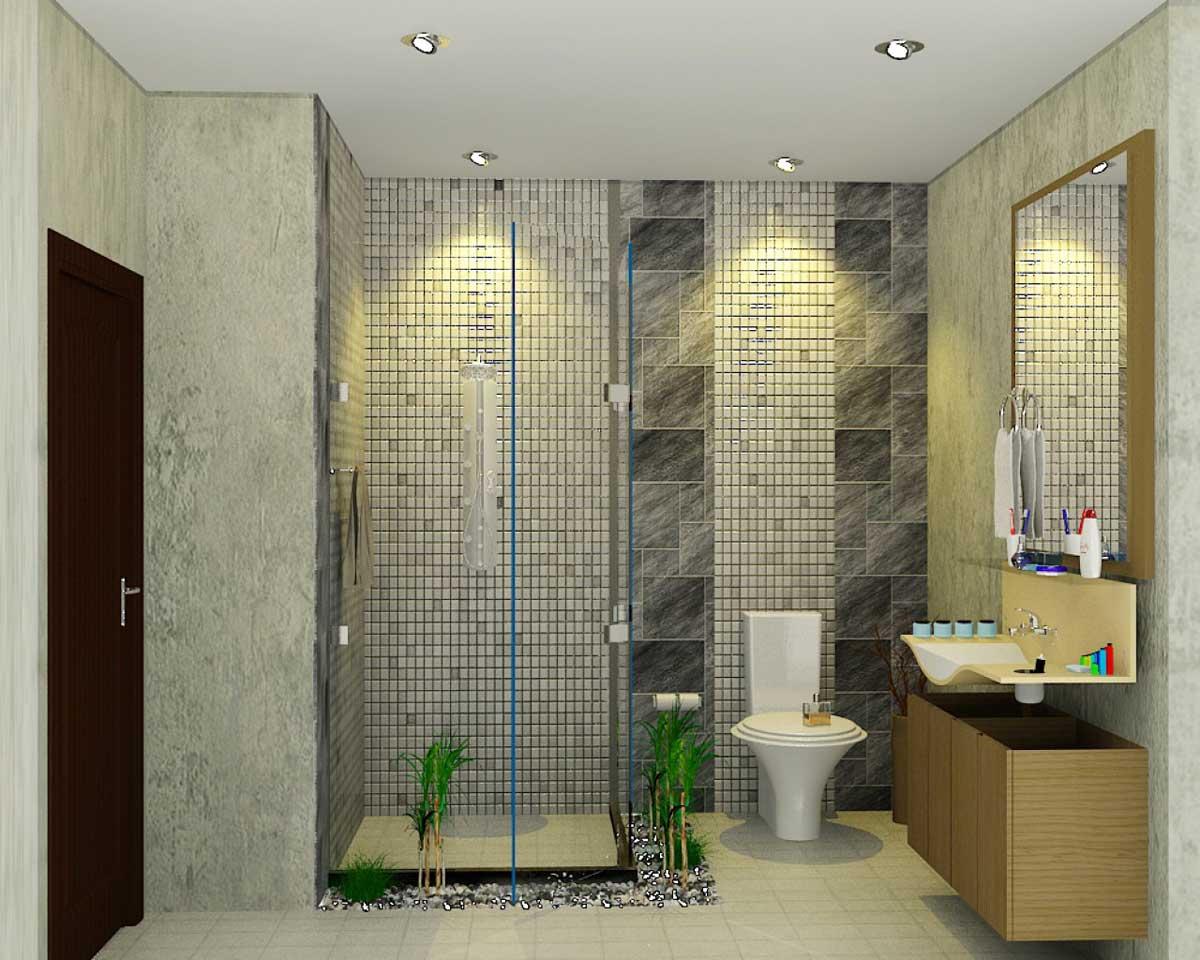 keramik kamar mandi minimalis batu alam - desain, gambar, foto tipe