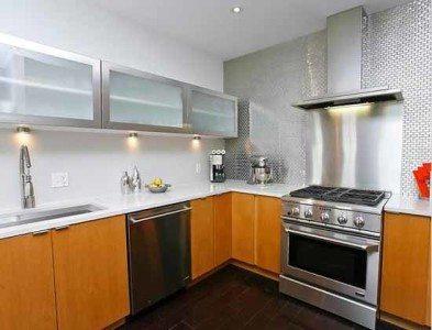 Ide Dapur Modern Dengan Lemari Dapur Aluminium Desain Gambar