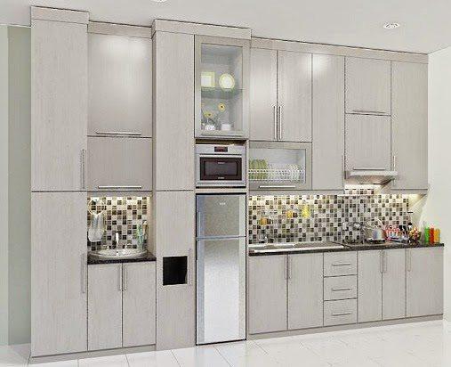 Lemari Dapur Aluminium Minimalis Kitchen Set Modern Desain Gambar Foto Tipe Rumah Minimalis Desain Gambar Foto Tipe Rumah Minimalis