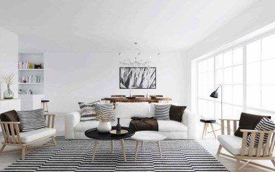 Desain Interior Rumah Minimalis Ala Skandinavia