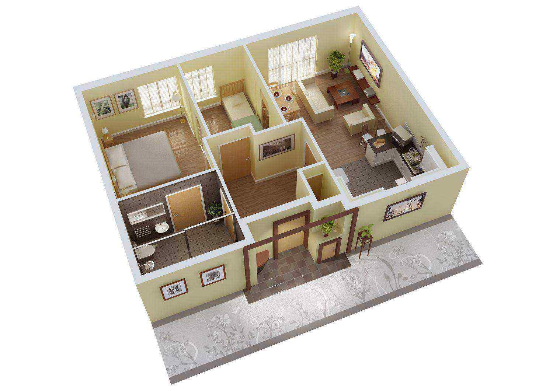 Denah Rumah Sederhana Dalam Style Jepang Modern