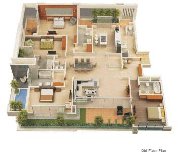 Denah Rumah Sederhana Mewah