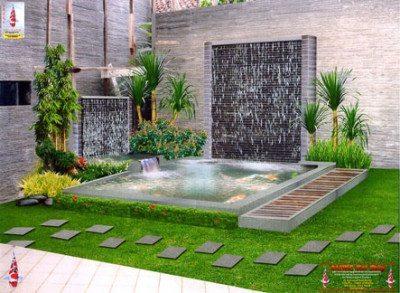 Model Taman Rumah Minimalis