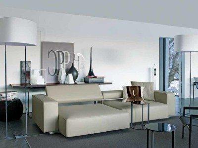 Ruang Tamu Mewah Modern