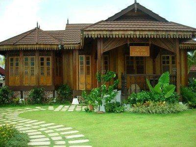 Rumah Limas Modern Kayu