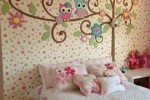 wallpaper kamar polkadot kombinasi wallsticker