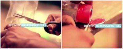 Cara Membuat Ac Sederhana langkah dua potong botol