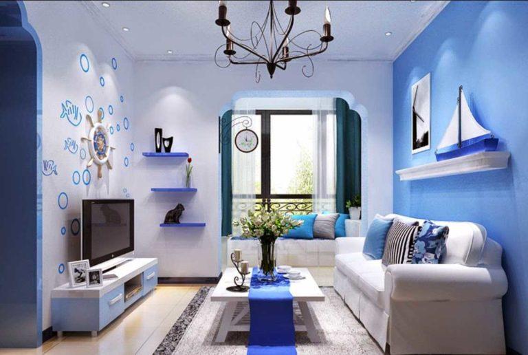Warna Cat Ruang Tamu Sempit Agar Terlihat Luas - Desain ...