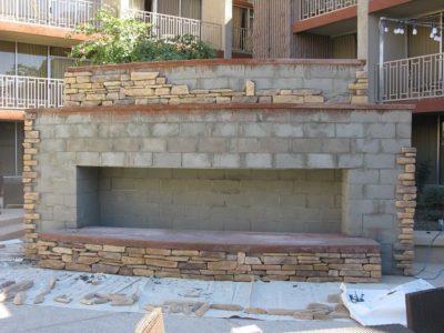 gambar pagar tembok rumah minimalis batu alam