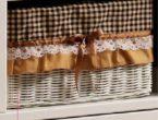 Harga Bufet Minimalis Murah Berkualitas Rosemary Detail Keranjang Rotan