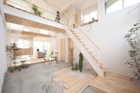 Contoh Model Rumah Minimalis Interkoneksi Antar Lantai