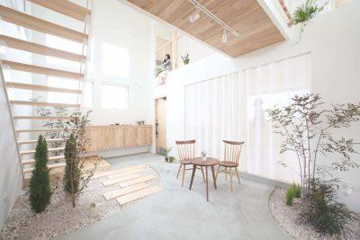 Contoh Model Rumah Minimalis Taman Dalam Rumah