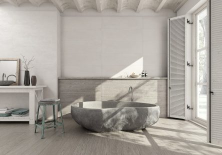Konsep Bangunan Rumah Minimalis Terbaru Kontak Langsung Sinar Matahari