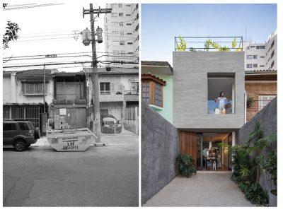 contoh gambar rumah minimalis fasad depan