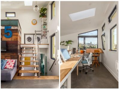 desain rumah sederhana minimalis interior tangga