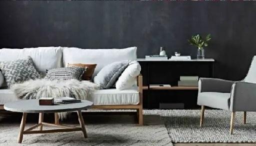 rumah model minimalis japandi warna kontras