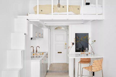 foto rumah minimalis sederhana penyimpanan atas