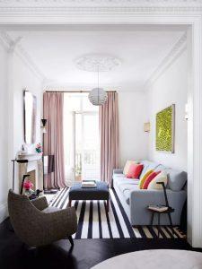 foto rumah minimalis terbaru gorden tinggi